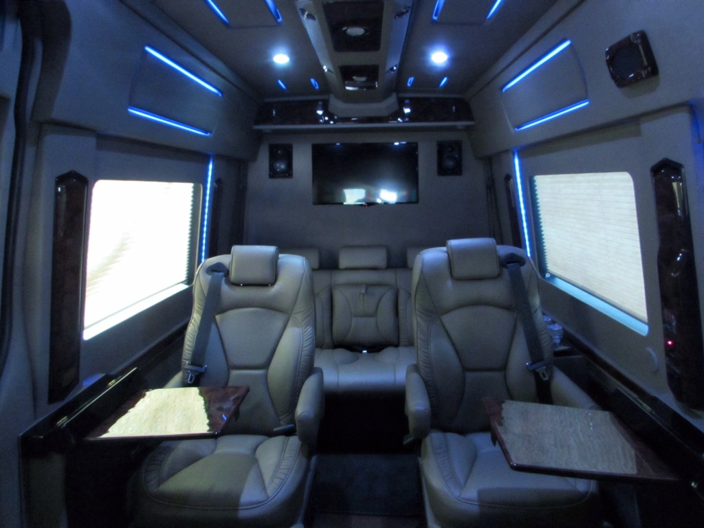 Mercedes Sprinter Limo Interior Photo