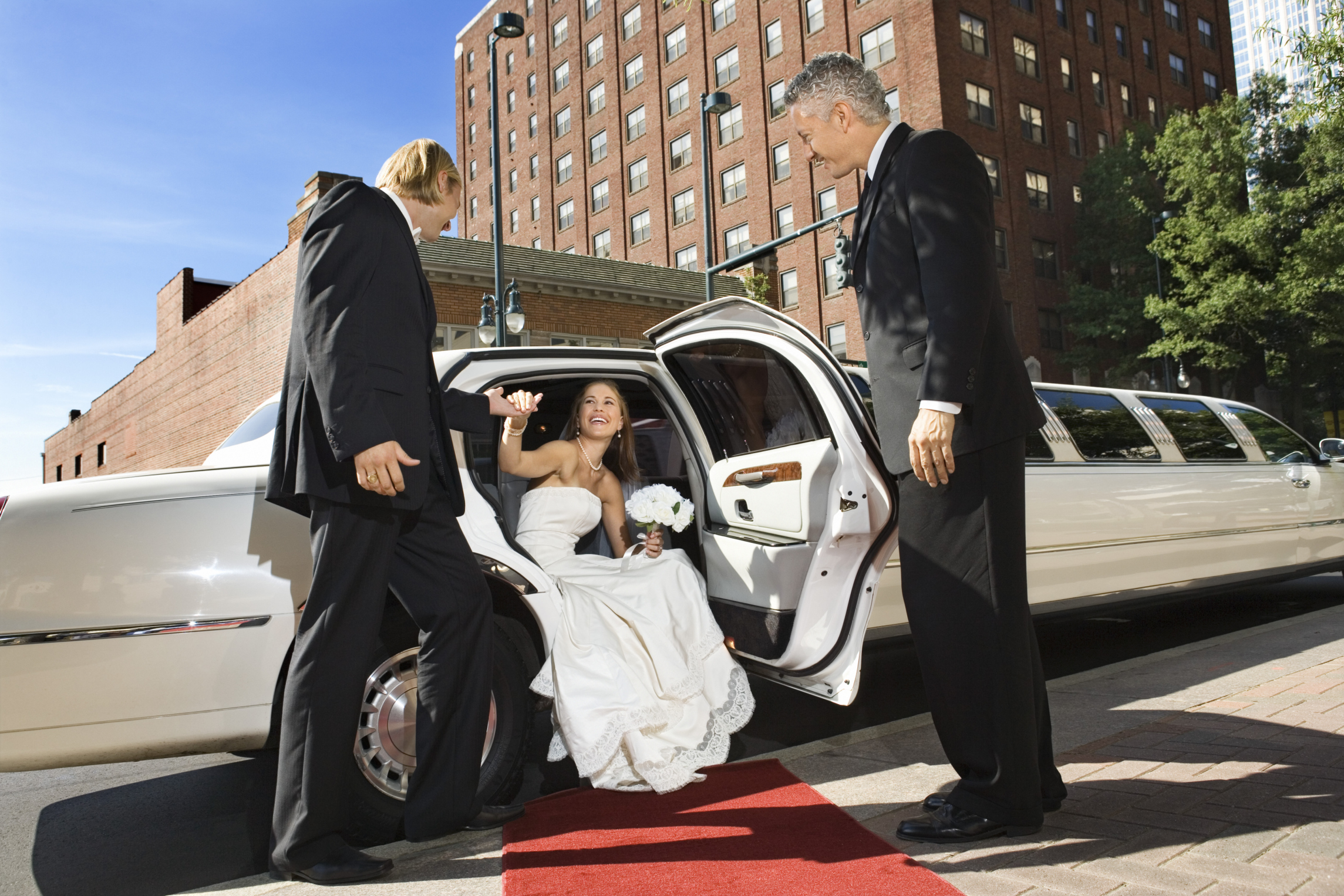 hudson valley wedding limo services